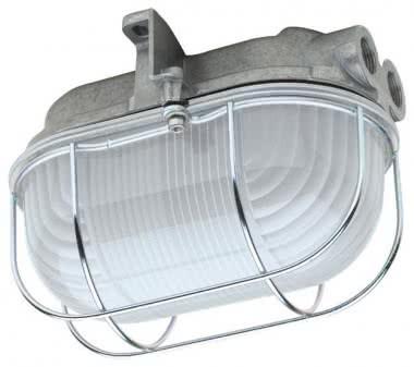 Schuch LED-Ovalleuchte mit sat. 361020032