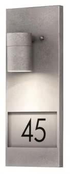 Gnosjo Hausnummernleu. Stahl gal. 7655-320