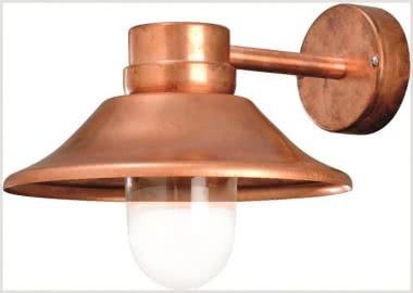 Gnosjo LED-Wandleuchte Kupfer IP54 412-900