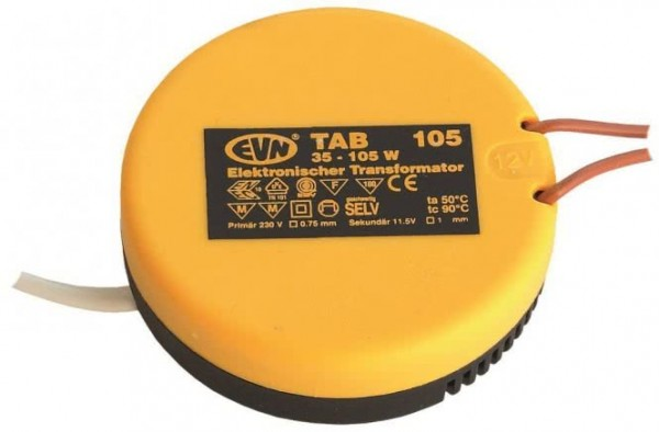 EVN Elektronischer Trafo 35-105W TAB105