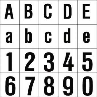 "RZB ""Buchstabe """"L"""",120mm"" 99223.003.L"