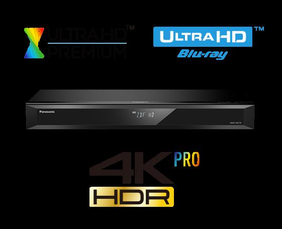 Panasonic DMR-UBS70EGK sw UHD Blu-ray