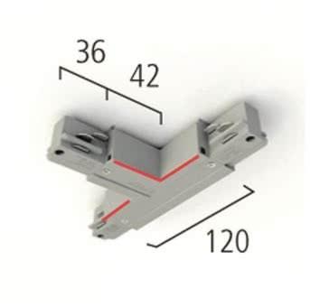 LTS 3PH T-Verbinder EU30 sw